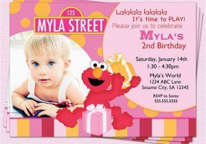 Elmo 1st Birthday Party Invitations Elmo Birthday Party Invitations