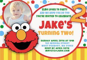 Elmo 2nd Birthday Invitations 1st Bagvania Free Printable