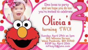 Elmo 2nd Birthday Invitations Hannah 2nd Birthday On Pinterest Sesame Street Party
