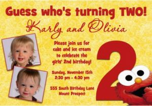Elmo 2nd Birthday Invitations Quotes For A Quotesgram
