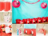 Elmo Birthday Decorations Ideas Kara 39 S Party Ideas Girly Elmo Party Planning Ideas Cake