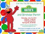 Elmo Birthday Invitations Online Elmo Birthday Invitation Red Green Yellow Blue Dots Photo