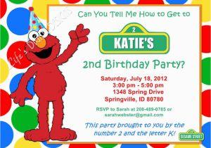 Elmo Birthday Invitations Online Invitation Red Green Yellow Blue Dots Photo
