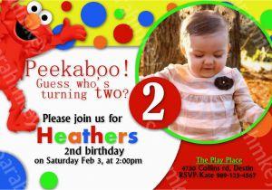 Elmo Birthday Invitations Online Party Templates