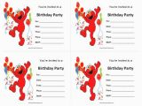Elmo Birthday Invitations Online Elmos Invitation Free Printable orderecigsjuice Info