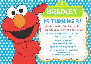 Elmo Birthday Invitations Online Free Printable Invitation