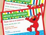 Elmo Birthday Invitations Online Free Printable Sesame Street Elmo Birthday Invitation