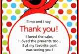 Elmo Birthday Thank You Cards 799 Best Sesame Street Birthday Party Images On Pinterest