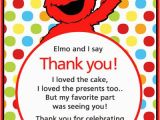 Elmo Birthday Thank You Cards 799 Best Sesame Street Birthday Party Images On Pinterest