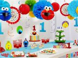 Elmo Decorations for 1st Birthday Elmo 1st Birthday Party Supplies Party City
