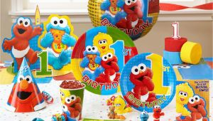 Elmo Decorations For 1st Birthday