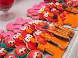 Elmo Decorations for 1st Birthday Elmo themed First Birthday Party the Celebration society