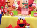 Elmo First Birthday Decorations Elmo Sesame Street Birthday Party Ideas Photo 6 Of 20