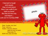 Elmo First Birthday Party Invitations 9 Best Images Of Elmo First Birthday Printable Elmo