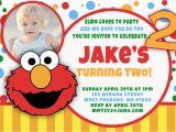 Elmo First Birthday Party Invitations Elmo 1st Birthday Invitations Bagvania Free Printable