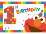 Elmo First Birthday Party Invitations Elmo Turns One Postcard Invitations Elmo 39 S 1st Birthday