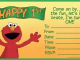 Elmo First Birthday Party Invitations How to Create Birthday Invitations and Cards 1st