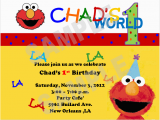 Elmo First Birthday Party Invitations solutions event Design by Kelly Elmo 1st Birthday