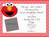 Elmo Photo Birthday Invitations Create Easy Egreeting Ecards