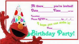 Elmo Photo Birthday Invitations Elmo 39 S song