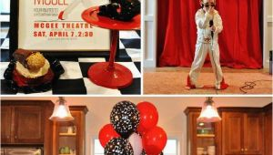Elvis Birthday Decorations Kara 39 S Party Ideas Elvis Party Supplies Decor Ideas