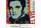 Elvis Presley Birthday Invitations Elvis Everything Birthday Party Invitations Paperstyle