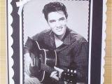 Elvis Presley Personalised Birthday Card Elvis Presley Birthday Card Mum Grandma Friend