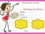 Email Birthday Cards for Kids Kids Birthday Invite Template Kid Birthday Invitation