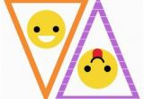 Emoji Happy Birthday Banner Printable Free Emoji Party Printable Happy Birthday Banner