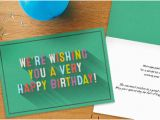 Employee Birthday Card Messages 25 Sentiments for Staff Birthday Cards Hallmark Business