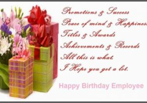 Employee Birthday Card Messages Wishes For Page 4 Nicewishes Com