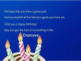 Employee Birthday Card Messages Birthday Wishes for Employee Page 4 Nicewishes Com