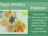 Employee Birthday Card Messages Happy Birthday Wishes for Employee From Hr Human Resource