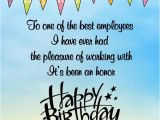 Employee Birthday Card Messages Happy Birthday Wishes for Employees Occasions Messages