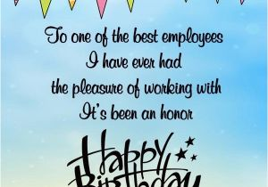 Employee Birthday Card Messages Happy Wishes For Employees Occasions