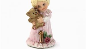 Enesco Birthday Girl Figurines Vintage Enesco Birthday Girls Figurine Year 1