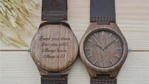 Engraved Birthday Gifts for Him Walnut Anniversary Gift for Him Wl4411 Woodchronos