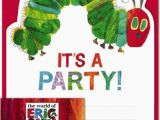 Eric Carle Birthday Invitations the Store Eric Carle the Very Hungry Caterpillar