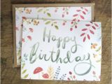 Etsy Birthday Cards for Her Lindsay Blevins Illustration New Birthday Cards are