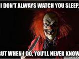 Evil Clown Birthday Meme Scary Clown Memes Image Memes at Relatably Com Creepy Pics