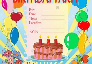 Evite Birthday Cards Invitation For A Party Best