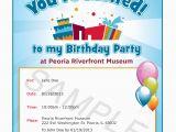 Evite Birthday Invites Party Invitations Colorfull Party Invitaton Template