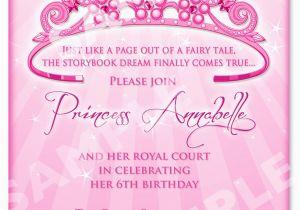 Evite Birthday Invites Princess Party Invitation Wording Best Ideas