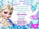 Evite Frozen Birthday Invitations Birthday and Party Invitation Frozen Birthday Invitation