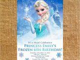Evite Frozen Birthday Invitations Customized Frozen Birthday Party Invite Digital File