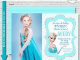Evite Frozen Birthday Invitations Frozen Birthday Invitation Printable Frozen Party Invitation