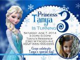 Evite Frozen Birthday Invitations Frozen Birthday Invitations Kustom Kreations
