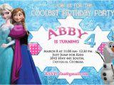 Evite Frozen Birthday Invitations Frozen Birthday Party Invitation