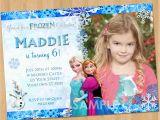 Evite Frozen Birthday Invitations Printable Frozen Invitation Frozen Birthday Invitation with