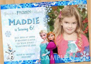 Evite Frozen Birthday Invitations Printable Invitation With